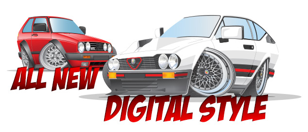 All new digital style